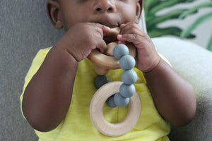 Rooted Teething Rattle© - Teether - The Rooted Baby Co.