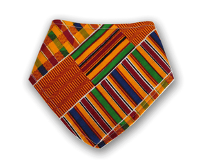 Kente - Bandana Bib - The Rooted Baby Co.