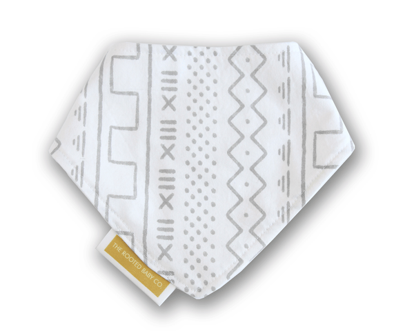 MudCloth - Bandana Bib - The Rooted Baby Co.
