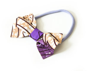 Amina - Hair Bow - The Rooted Baby Co.