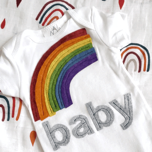 Rainbow Baby Bundle - Gift Set - The Rooted Baby Co.