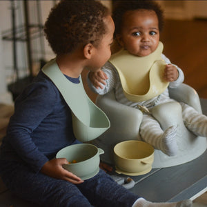 Silicone Bib // Akosombo - Silicone Bib - The Rooted Baby Co.