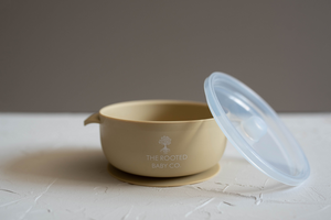 Silicone Bowl // Boti Falls - Silicone Bowl - The Rooted Baby Co.