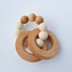 Rattle // Rooted Teething Rattle - Teether - The Rooted Baby Co.