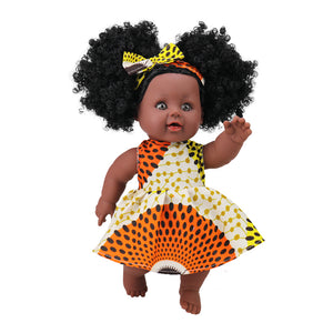 Akua (Wednesday) Ashanti Doll - The Rooted Baby Co.