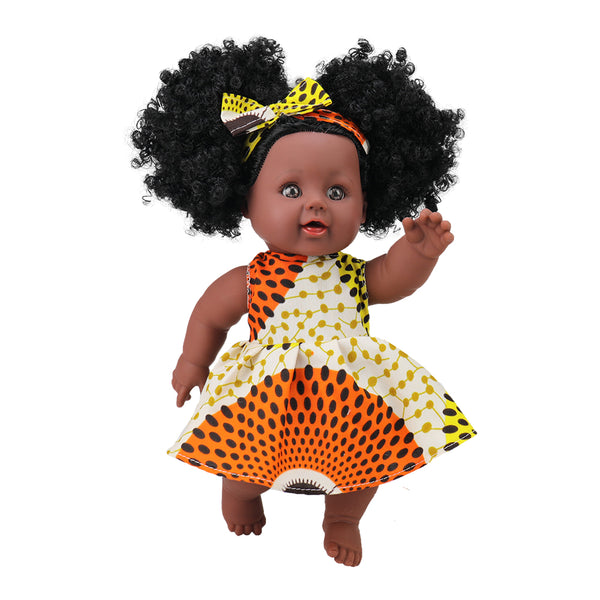 Akua (Wednesday) Ashanti Doll - Ashanti Doll - The Rooted Baby Co.