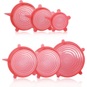 Silicon Strech Lids - Pink - Food Kitchen Kitchen Accessories Silicon Silicon Lids
