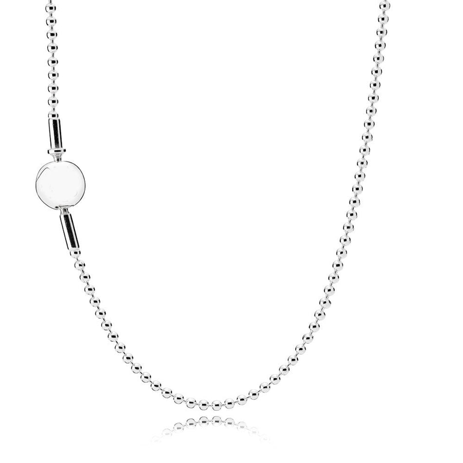 1-1-Essence-Collection-Beaded-Necklace-925-Sterling-Silver-Jewelry-Girl-Silver-Chain-Birthday-Gift-fit