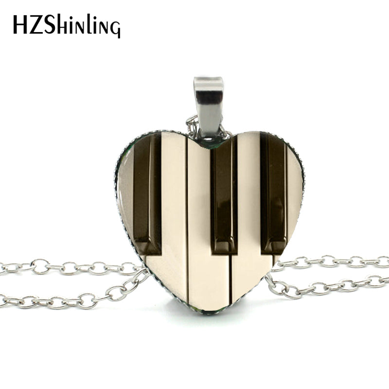 2015-New-Hot-Glass-Dome-Jewelry-Piano-Keyboard-Pendant-Music-Instrument-Jewelry-Gift-for-Music-Lover
