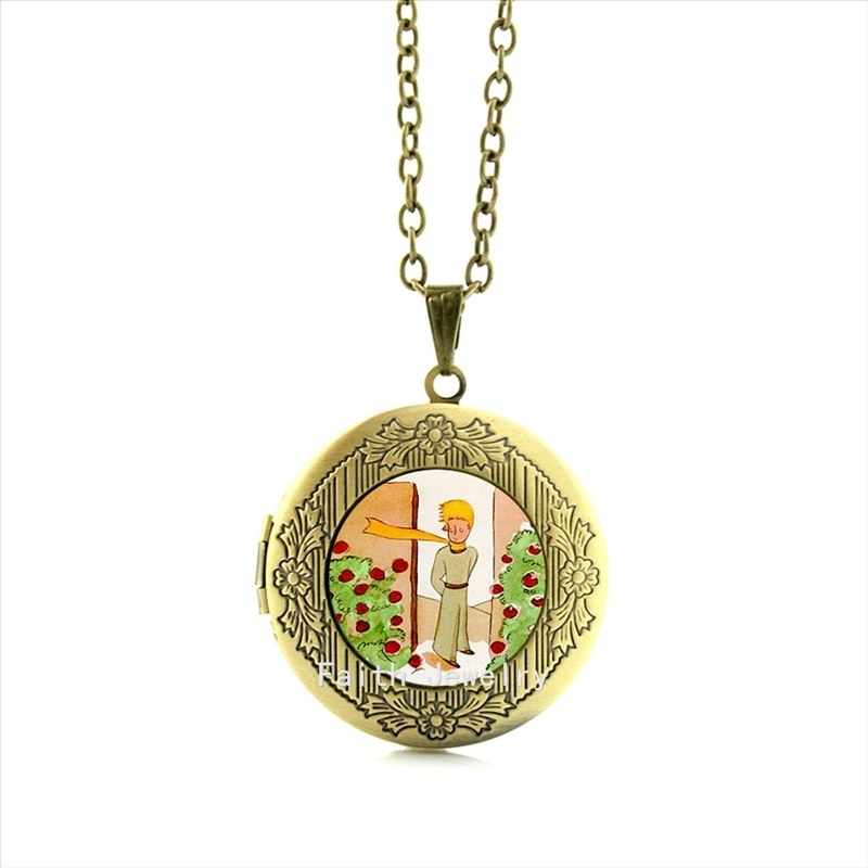 2020 Limited Collares Collier Maxi Necklace The Exquisite Handicraft Little Prince Locket Necklace Jewelry For Women And Hh069