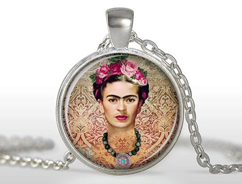2020 Real Limited Zi Women Bohemia Maxi Necklaces Collier Collares Frida Kahlo Necklace Jewelry Art Pendant Charm HZ1