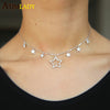 2018-Limited-New-Collier-Collares-Fashion-Women-Jewelry-Stunning-Cz-Pendant-Necklace-Charm-925-Sterling-Woman