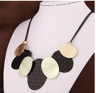 2018 Maxi Necklace Colar Big Brand Collares fine Jewelry pendants Bijoux necklaces Woman Statement Necklaces Wholesale Price