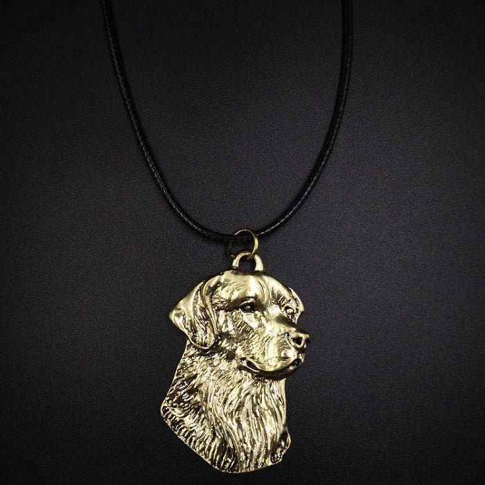 2020 New Style Lovely Dog Pendant Necklaces Women Girls Silver Golden Color Long Chain Female Necklaces Pendants Fashion Jewelry