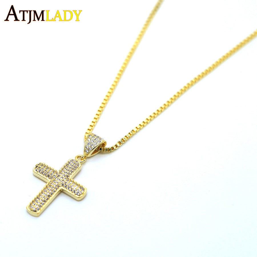 2017-AAA-cubic-zirconia-jewelry-gold-color-micro-pave-Bling-hip-hop-jewelry-Cross-pendant-mens