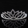 AINAMEISI Princess Crown Bride Tiaras Hair Comb Ornaments Jewelry Headband Crystal Pearl Wedding Crown Hairband Women Headwear