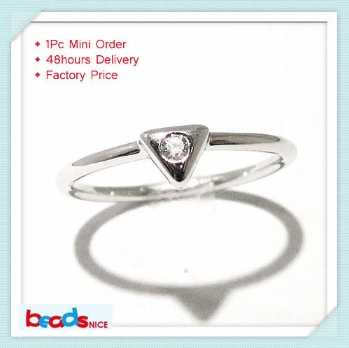 ID26778 personalized design of first knuckle rings 925 silver mid finger ring