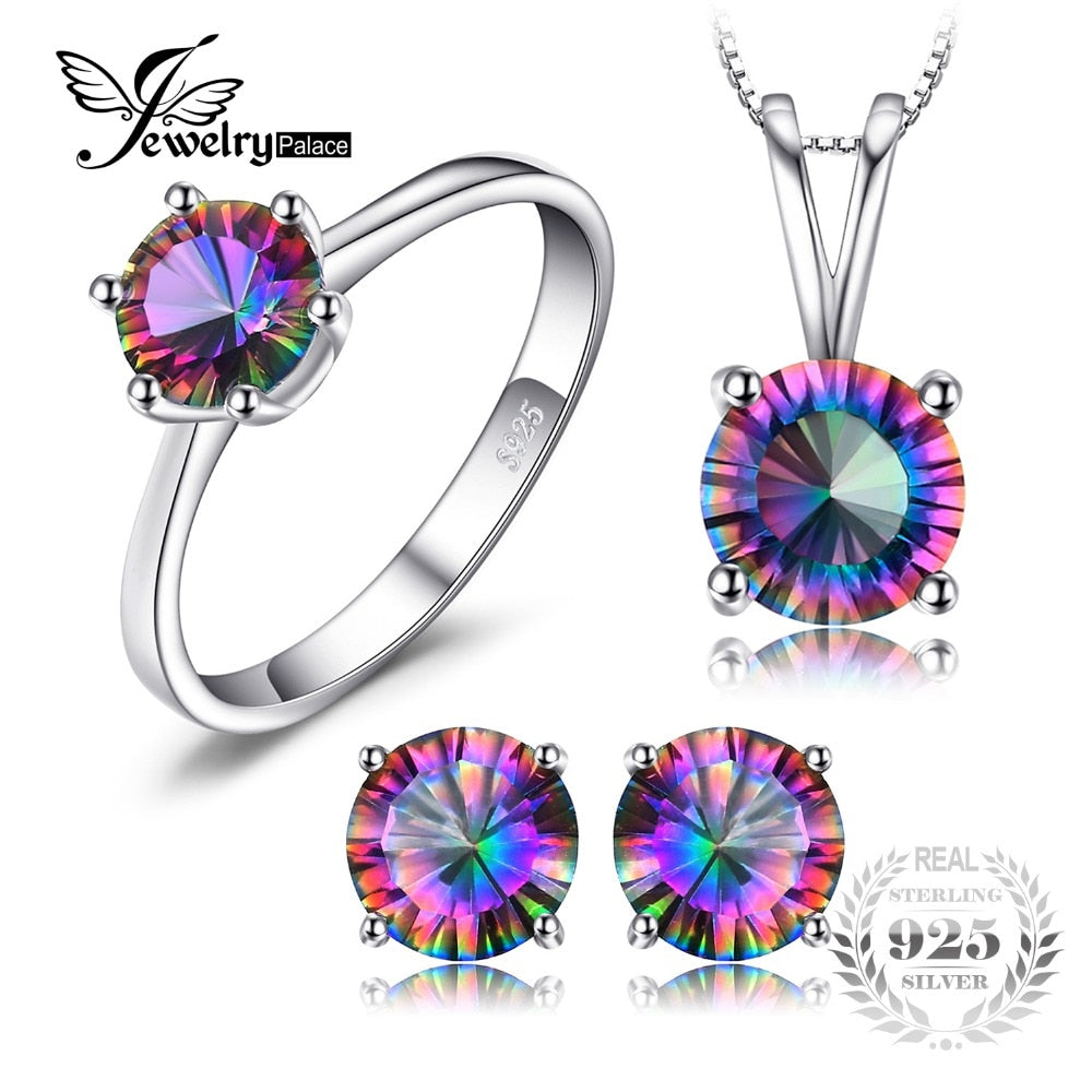 Fashion Colorful CZ 925 Sterling Silver Engagement Rings For Women New Design Luxury Party Wedding Ring For Female