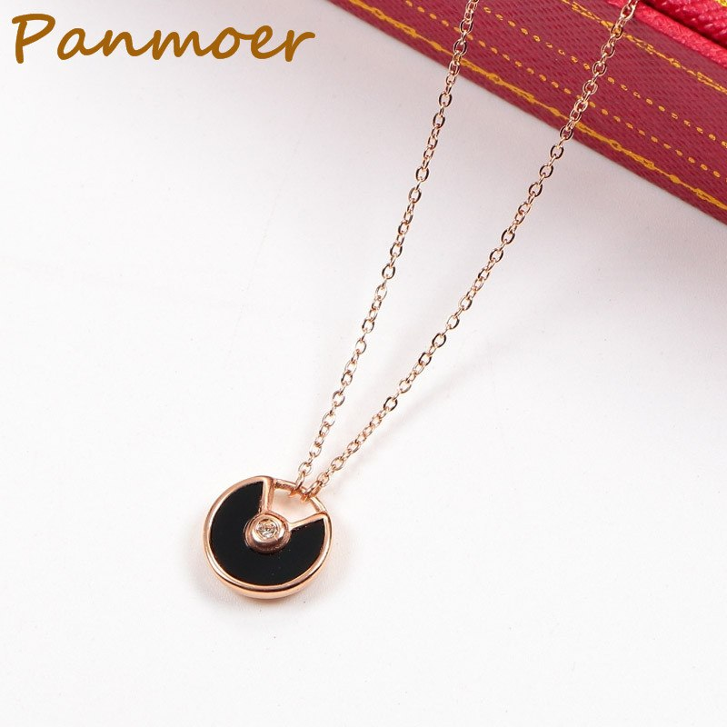 Drop shipping brand carter AMULETTE Necklace Classic Fritillarian shell Short Necklace for women fashion charms fine jewelry