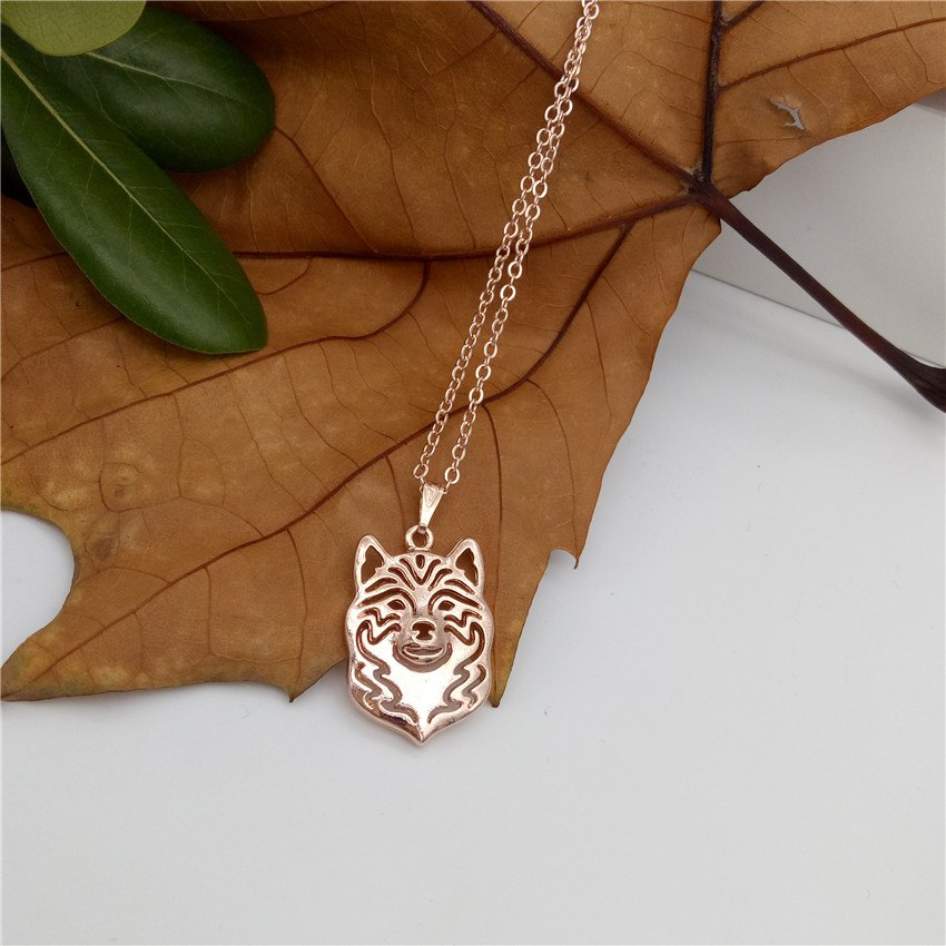 2020 Shiba Inu Necklace Gold Color Silver Color Dog Jewellery Shiba Breed Standard Pendant Necklace Women Steampunk