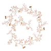 Fashion Flower Vine Tiara Bride Head Chain Bridal Headbands Hair Ornaments Wedding Hair Accessories Jewelry Women SP0127