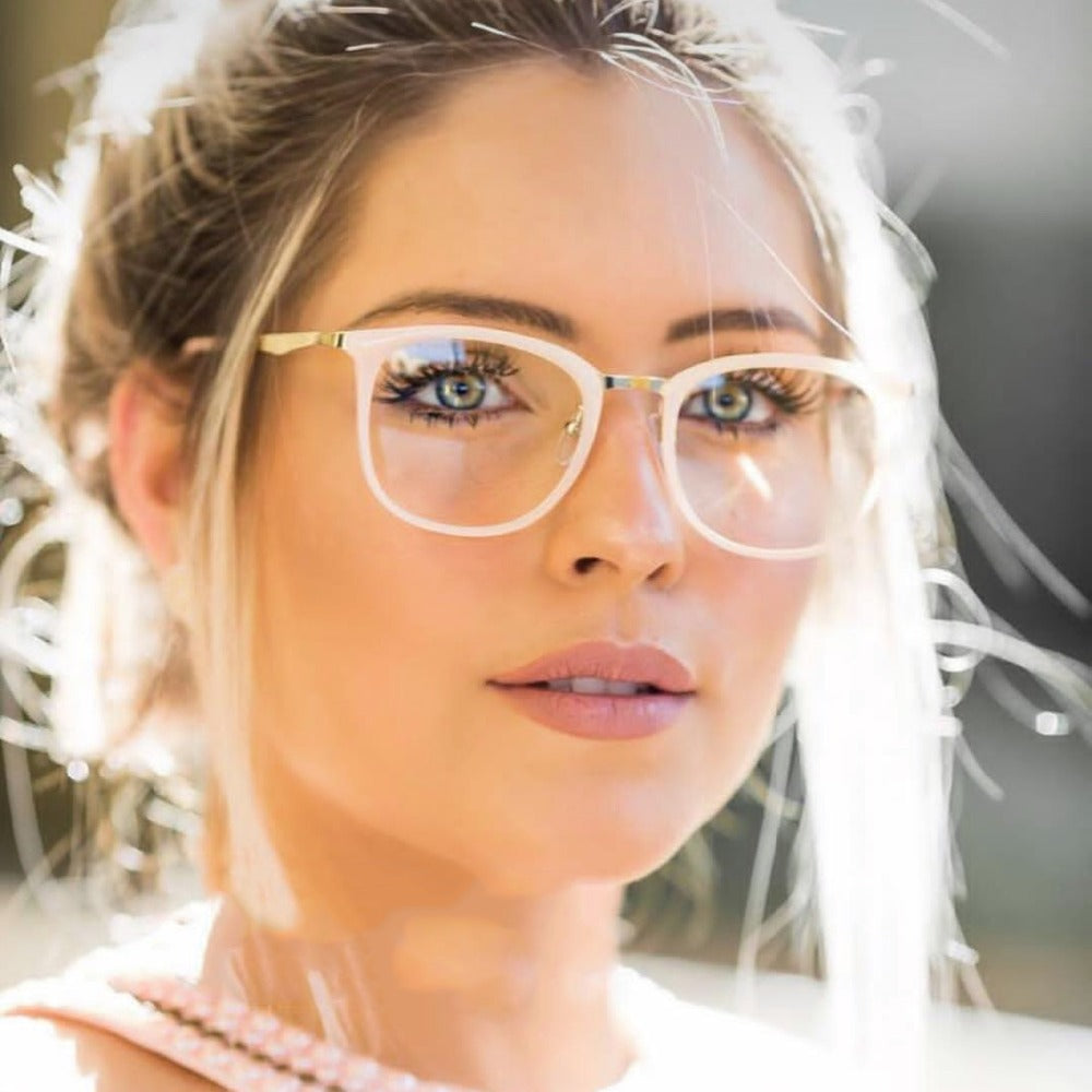Fashion Optical Glasses Women Clear Lens Square Eyewear lentes Mujer Miopia Accessories Gafas Eyewear Frame