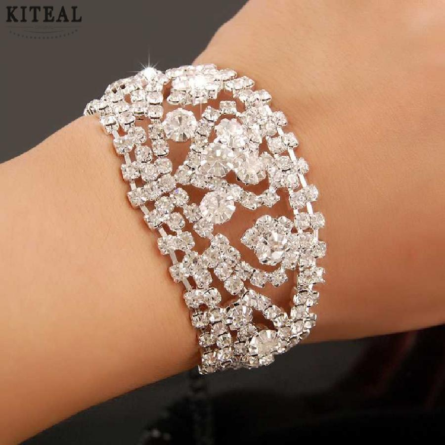 KITEAL online shopping india Austrian Crystal     bracelets & bangles white 1  wedding jewelry  anchor wedding