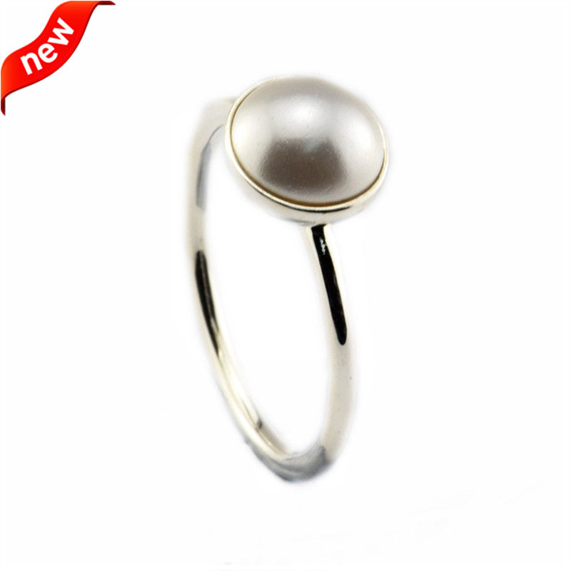 Luminous Drople Ring Fits European Jewelry Authentic 925 Sterling Silver Jewelry for Women Wholesale Free Shipping