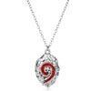 World Of Warcraft Hearthstone Glass Round Pendant Charm Necklace Fine Jewelry for Women Men-30
