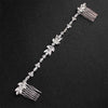 Miallo 2018 Classic Wedding Long Hair Combs Austrian Crystal Bendable Bride Hair Jewelry Accessories Women Hairpins Hairpieces