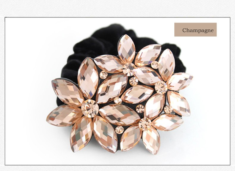New Crystal Rhinestone 90s Hair Accessories Jewelry Ornament Rope Ring online shop for Women Casual Birtherday Wedding Party