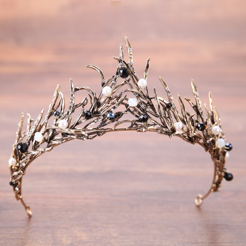 New Handmade Headpieces Wedding Bridal Pearl And Crystal Headbands For Bride Hair Wedding Party Accessories Jewelry