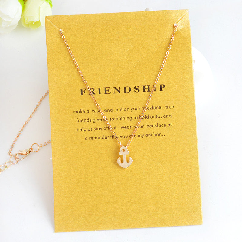 Simple Hollow Triangle Fatima Palm with Heart Three Wishes Stars Pendant Necklace Gold Silver Minimalist Mini collar collier