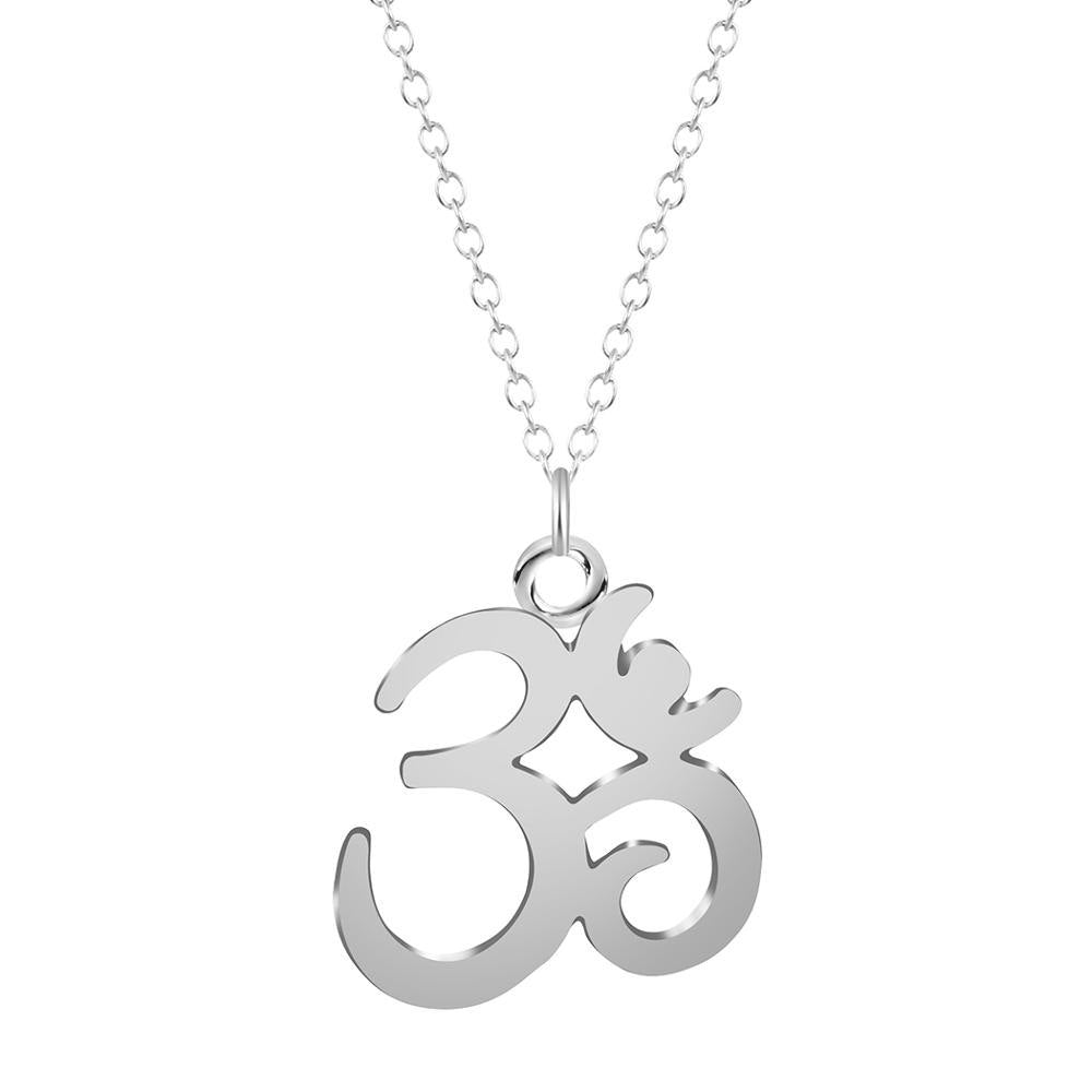 Todorova Yoga OM Pendant Necklace Meditation Om Symbol Necklaces Online Shopping India Women Statement Chain Jewelry Bijoux