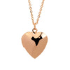 Valentines Gift Love Locket Necklace Glossy Heart Necklaces Put Photos Open And Close Pendants Fine Jewelry