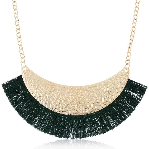 Women's Tassel Necklace for Women Ethnic Tassels Statement Necklaces & Pendants NEW Fashion Jewelry for Gift to a Woman KK234