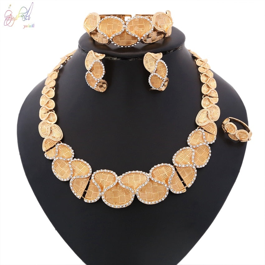 Yulaili Top Quality Pretty Jewellry Jewelry Sets Online Shopping Made In China