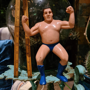 Rubber WWF 'Andre The Giant' Figure - 20cm
