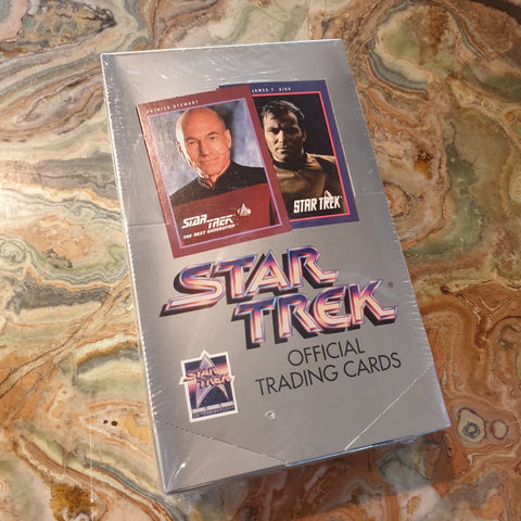 1991 Star Trek Series 1 Trading Cards Sealed Box (36)