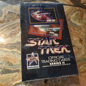 1991 Star Trek Series 2 Trading Cards Sealed Box (36)