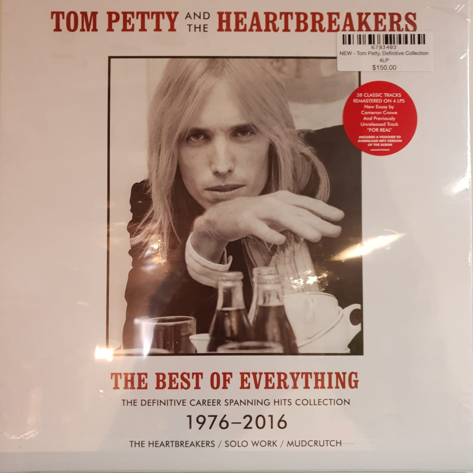NEW - Tom Petty and the Heartbreakers, The  Definitive Collection 4 LP