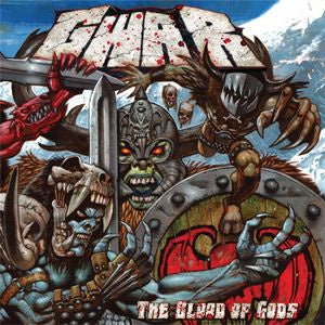 NEW - GWAR, Blood of Gods Clear White Blue Swirl LP