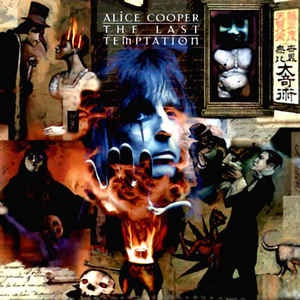 NEW - Alice Cooper, The Last Temptation Black LP