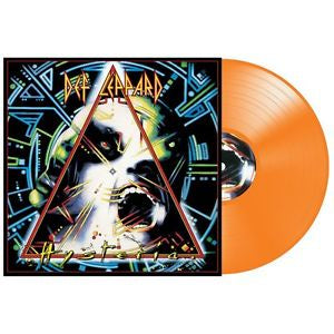 NEW - Def Leppard, Hysteria Orange 2LP
