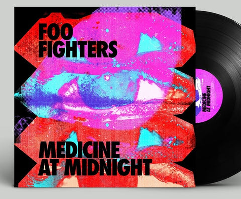 NEW - Foo Fighters, Medicine at Midnight Black LP NOTE: Due 5th Feb 2021
