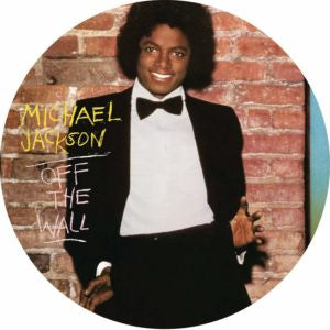NEW - Michael Jackson, Off Wall Pic Disc