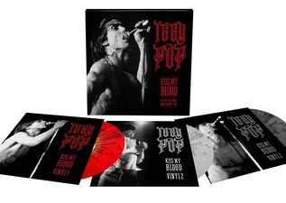 NEW - Iggy Pop, Kiss My Blood Live in Paris Splatter 3LP
