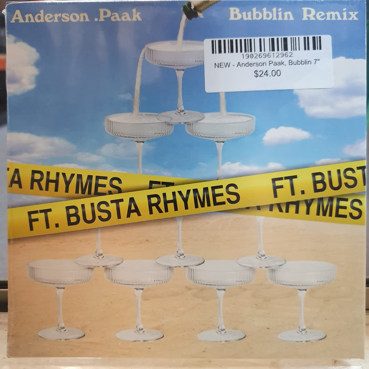 NEW - Anderson Paak, Bubblin 7""