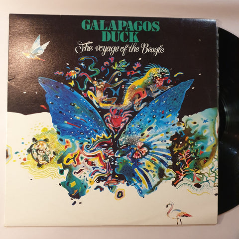 Galapagos Duck, The Voyage of t he Beagle LP (2nd Hand)