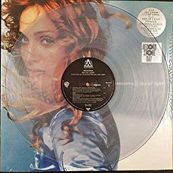 NEW - Madonna, Ray of Light 180gm Clear Vinyl